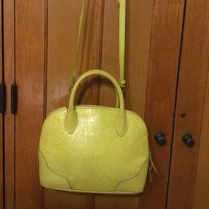ETRO Milano Hand Bag Crossbody Satchel Bag